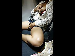 Indian Babe Masturbating In Emirates Flight