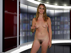 Naked News Hairy Audition