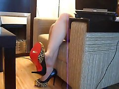 Rina Foxxy Nylon Foot Play